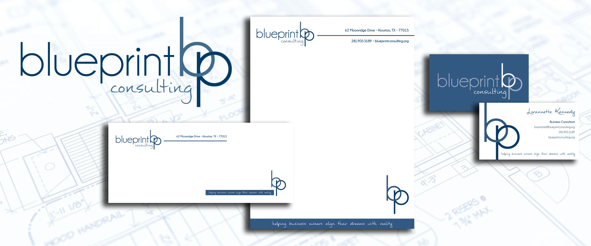 Twelve 24 design portfolio identity design for blueprint consulting blueprint consulting malvernweather Choice Image